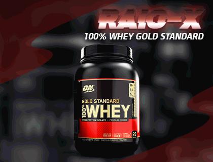 RAIO X 100% WHEY GOLD