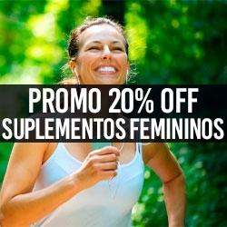 PROMO 20% OFF Suplementos Femininos
