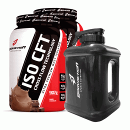 Iso CFT Whey (907g) - 2 unidades - galão